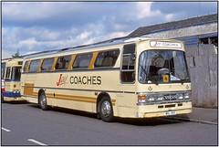 MSL 35X Jay's Coaches                       (SC1926FL13) (Gerry McL) Tags: jays coaches volvo b58 duple dominant iii coach bus glasgow scotland msl35x trapezoidal
