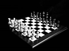 """The Game Of Chess"" (Beangrau12) Tags: dogwood2019 week3 inspirationblackandwhite blackandwhite chessboard kingqueenrookbishoppawnandknight tamron16300mm nikon3200 match black white"