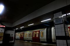 Edit of-0091 (Daisy Roffe) Tags: underground london dark moody trains subway neon