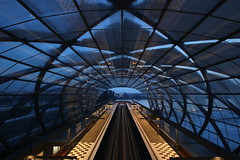 Elbbrücken-Bahnhof (Elbmaedchen) Tags: bahnhof ubahn ubahnhof elbbrücken u4 hamburg railway station underground architektur architecture bauwerk hafencity zweibrückenstrase gerkanmargundpartner skywalk