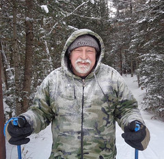 1-29-19 Mike (M.R.Kirk) Tags: sylvania sylvaniaoutfitters ski crosscountryski watersmeet winter cold snow ice trail january
