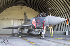 549 / Hellenic Air Force / Dassault Mirage 2000-5EG (Peter Reoch) Tags: 549 hellenic air force dassault mirage 20005eg hellenicairforce greece greek fighter jet mirage2000 mirage20005 tanagra base military combat aircraft aviation has shelter