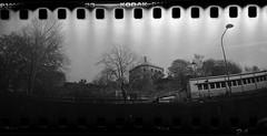 Skansen Kronan (rotabaga) Tags: sverige sweden svartvitt sprocket göteborg gothenburg blackandwhite bwfp bw diy expiredfilm tmax3200 toycamera r09 lomo lomography
