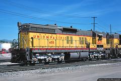 High Hood Heaven (jamesbelmont) Tags: unionpacific emd sd7 saltlakecity utah northyard railway