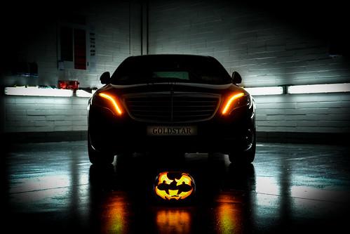 Happy Halloween Goldstar Chauffeur