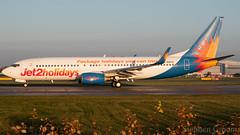 Jet2.com Boeing 737-86Q G-GDFZ (StephenG88) Tags: manchesterairport southside man egcc 23l 23r boeing airbus 15thnovember2018 151118 111518 lineup takeoff 737 738 737800 737ng jet2com jet2 exs ls jet2holidays 73786q ggdfz