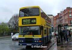 Dublin Bus RV430 (98D20430). (Fred Dean Jnr) Tags: april2005 dublin dublinbus busathacliath dublinbusyellowbluelivery volvo olympian alexander r dublinbusroute42b rv430 98d20430 ctarf memorialroaddublin s303yoo