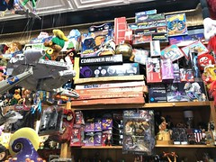Big Fun - Columbus Ohio (rbatina) Tags: bigfun big fun vintage retro old school toy store transformers star wars gobots heman shera collectible kids awesome amazing cool badass columbus ohio oh short north high street shop inventory massive huge amount cars planes dolls action figures december 15 2018 space adventure scifi science fiction spaceship novelty modern trading cards stickers rubbertoe
