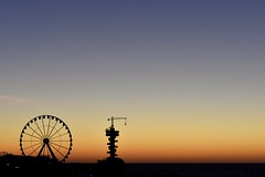 Zonsondergang Scheveningen (geoffreydehaan) Tags: sunset night scheveningen pier