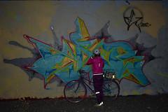 Bronx, New York (Quench Your Eyes) Tags: letsglownbx letsglownyc ny tuffcity tuffcitybronx tuffcitytattoos artworks bicycle bikelights bronx fallride fordhamplaza glowatnight graffiti lumoshelmet newyork newyorkcity newyorkstate nightride nyc nycdot reflective streetart thebronx urbanart visibility wallart fyrflynyc