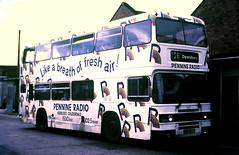 Slide 125-41 (Steve Guess) Tags: west yorkshire england gb uk riding leyland olympian pennine radio wakefield eww547y woollen district