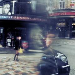 (Darryl Scot-Walker) Tags: abstractstreet london street londonstreetphotography londonstreetphotographers people traffic taxi blur road pavement sidewalk theatre urban experimental
