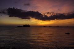 Amaneciendo en Ibiza (ibzsierra) Tags: ibiza eivissa baleares canon 7d 1740usm mar sea mer mare camanecer dawn sunrise nube cloud