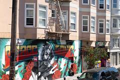 Grace and Love (Dominic Sagar) Tags: amy arlen felsen friends sanfrancisco garcia gerry mural sign california unitedstates us