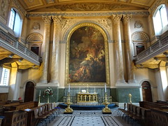 The Chapel of St Peter and St Paul: Old Royal Naval College Greenwich (delta23lfb) Tags: greenwich navalcollege thomasripley wren chapel church