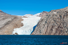 Grönland_4 (Joachim Spenrath Münster, Germany) Tags: greenland eisberg atlantik grönland ostküste weis kalt eis tiefdruckwetterlage himmel meer ozean boot wasser felsen gletscher prinschristiansund gletscherzunge