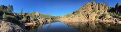 Bear Gulch Reservoir at Pinnacles NP in CA (landscapesinthewest) Tags: bear gulch reservoir pinnacles national park california landscape west panorama panoramic american