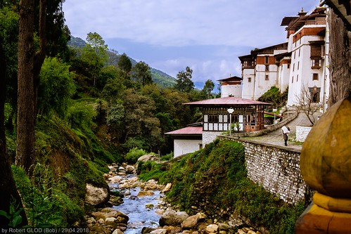 Trongsa - Trongsa Dzong (The largest Dzong in Bhutan)