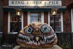King Eider's Pubkin_27A7130 (Alfred J. Lockwood Photography) Tags: alfredjlockwood travelphotography maine pumpkinfestival halloween holidaydecoration pub evening damariscotta