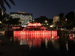 Grand Park / Will Fountain at night (TomChatt) Tags: dtla fountain