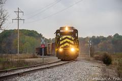 IN 2230 @ Allen, MI (Michael Polk) Tags: indiana northeastern in 2230 gp30 emd freight train michigan allen