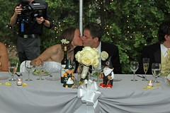 "Kiss at the Head Table • <a style=""font-size:0.8em;"" href=""http://www.flickr.com/photos/109120354@N07/45192727805/"" target=""_blank"">View on Flickr</a>"