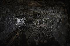 s_IMG_4612 kopiera (mephoto-se) Tags: mine mining mininghistory history abandoned forgotten deep downunder underground iron oldmine old decay decaying under tunnel miningindustry rail rails darkness dark lightpainting nightphoto