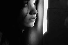 🌒 (AloysiaVanTodd) Tags: natural sun light portrait selfportrait autoportrait expressive poetry emotive sensitivity nature art artisticnude artistic artist shadows shades blackandwhite noir noiretblanc sombre photographie magnifique lucie merci