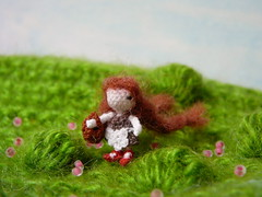 138-doll with a basket 17mm (1) (tinyteensdolls) Tags: amigurumi amigurumidoll artdoll crochet craft crochettoy crochetmini crochetminiature crochetdoll miniature mini microcrochet micro miniamigurumi minicrochet toy tinyamigurumi tiny threadcrochet handmade small