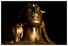 Adiyogi / 112 feet height Guinness world record. (Rajavelu1) Tags: adiyogi statue coimbatore tamilnadu india guinnessrecord art creative streetphotography nightstreetphotography hanheldphotography cinematic artdigital availablelight highiso