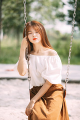 NAM02821-Edit-2 (ngocnam23041991) Tags: portrait vietnam vietnamese afternoon beauty forest saigon hochiminh sonyalpha a7iii a7m3 sony85mmf18 fe85mmf18 tree grass swing