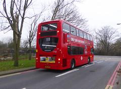 GAL E275 - SN62DMV - OSR - TUDWAY ROAD KIDBROOKE - SAT 15TH DEC 2018 (Bexleybus) Tags: goahead go ahead london adl dennis enviro 400 tfl route 178 e275 sn62dmv tudway road kidbrooke village ferrier estate se3