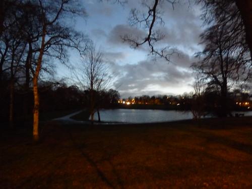 Swanhurst Park after dark