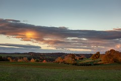 France - Isère - Saint Anne sur Gervonde - lever de soleil. (Jean-Philippe Le Royer) Tags: leverdesoleil sunrise clouds atmosphere sky colors couleurs automne landscape canon g1xiii canong1x terresfroides nordisère