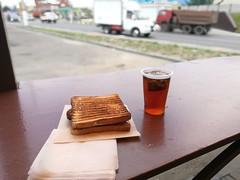 Рано утром я выгрузился в Лисках, закупился на центральном рынке провизией и испил крепкого чая с бутербродом на выезде из города. Мне предстоял долгий путь до места ночевки на берегу реки Битюг.