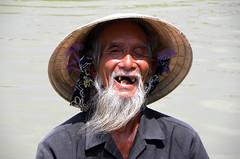 Fisherman's portrait - Hoi An Vietnam (Pietro D'Angelo2012) Tags: fisherman vietnam man portrait ritratto
