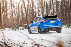 Focus RS-4 (Massard Kevin) Tags: rouge bleu blue ford focus rs performance canon 5d mark 2 l snow sport car cars