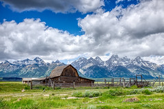 Mormon Row, WY (mktdg) Tags: usa united states america grand teton national park mormon row barn farm ranch tetons mountains valley wyoming