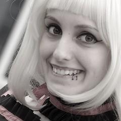 Tifani ... MondoCon 2018 spring _ FP1948M3 (attila.stefan) Tags: tifani stefán stefan attila aspherical anime mondocon manga con cosplay pentax portrait portré 2018 tavasz tamron 2875mm spring smile