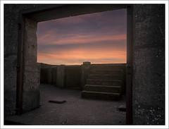 brean-down-sunset-1100636-090119 (Peadingle) Tags: sunset dusk brean down fort somerset