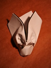 Open-minded (pierreyvesgallard) Tags: origami mask zippergami zipper paper folding face
