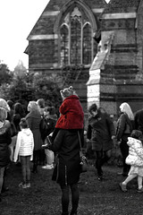 Girl In The Red Coat (Jonathan Goddard1) Tags: pentax k1 dfa50mmf14aw 50mm f14 remembrance armistice poppies 100thanniversary 19182018