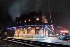 Minersville Station (Dan A. Davis) Tags: cnj113 cnj centralrailroadofnewjersey project113 steamlocomotive steamengine 060 railroad locomotive train minersville pa pennsylvania