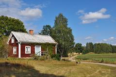 The old cottage (DameBoudicca) Tags: sweden sverige schweden suecia suède svezia スウェーデン småland fröreda storegård cottage stuga torp undantag häuschen casolare rustico chalet 小屋 こや