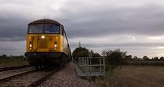Awaiting Allington (Wulfruna) Tags: grid 56078 colas steel freight railway diesel locomotive bostonsteel uk england allington junction lincolnshire signalbox 6e07