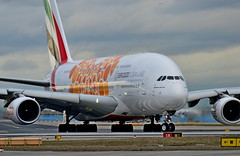 """A6-EOA Emirates Airbus A380-800  """"Expo 2020 Opportunity Orange"""" (czerwonyr) Tags: a6eoa emirates airbus a380800 expo2020opportunityorangefra eddf fra"""