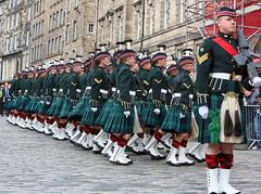 Freedom of the City - Royal Regiment of Scotland celebrate 10th Anniversary (FotoFling Scotland) Tags: army edinburgh freedomofedinburgh kilt soldier uniform scotland unitedkingdom gb