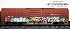 _DSC6777 (The Curse Of Brian) Tags: trains freights graffiti minneapolis minnesota stalk maple eros