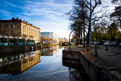 Reflection (Maria Eklind) Tags: reflection höst city spegling sweden autumn gothenburg göteborg västragötalandslän sverige se