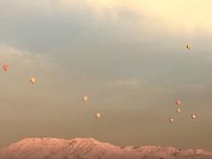Hot air balloons- Luxor, Egypt (cattan2011) Tags: egypt naturelovers naturephotography natureperfection nature traveltuesday travelphotography travelbloggers travel balloons mountains mountainscape landscapephotography landscape luxor hotairballoons